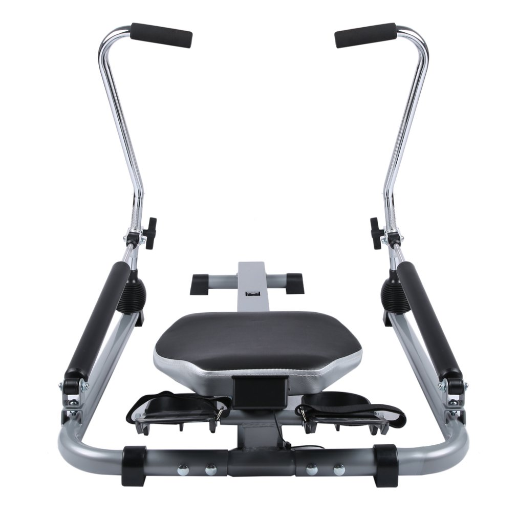 Rowing Machine For Home With Sliding Seat, Home Exercise Equipment, Fitness, Lose Weight, Cardio, Arm workout, Training... by MUSIC