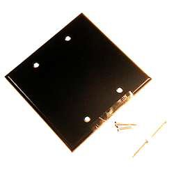 wht blank wall plate 88025