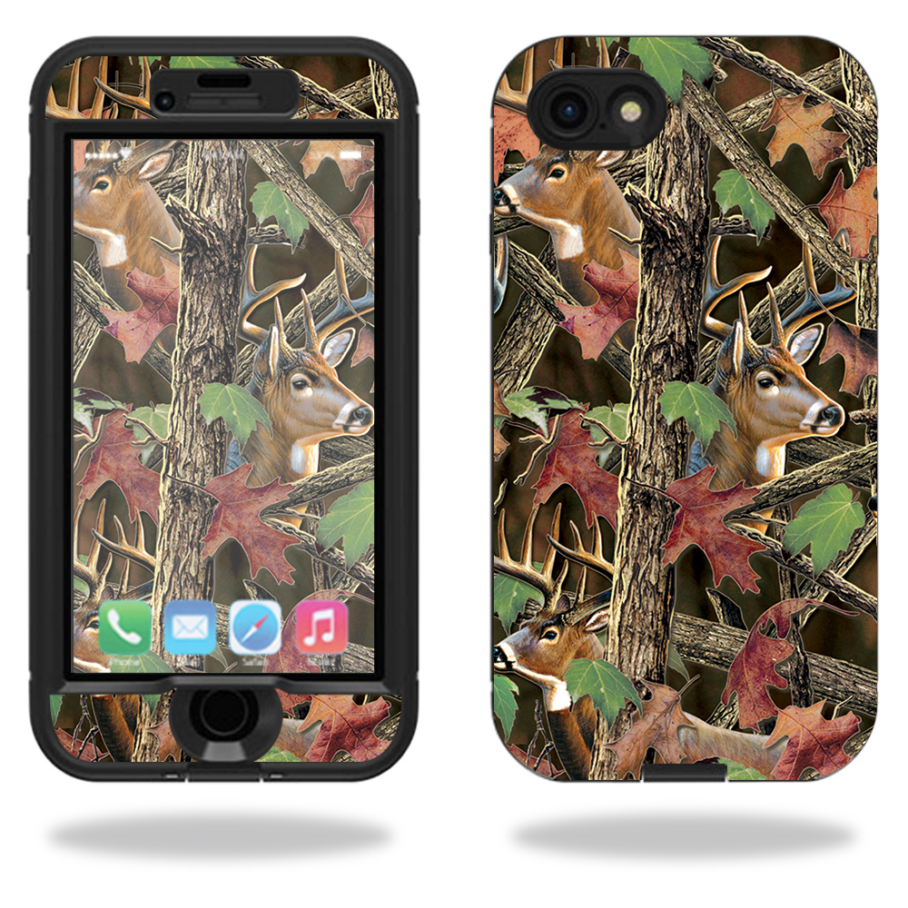 Skin For Lifeproof Nuud iPhone 7 Case – Buck Camo | MightySkins Protective, Durable, and Unique Vinyl Decal wrap cover | Easy To Apply, Remove, and Change Styles | Made in the USA