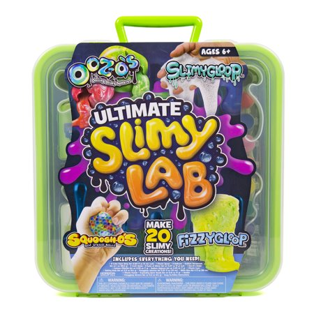 Ultimate Slimy Lab with SLIMYGLOOP, Fizzygloop, SQUOOSH-Os & OOZ-Os