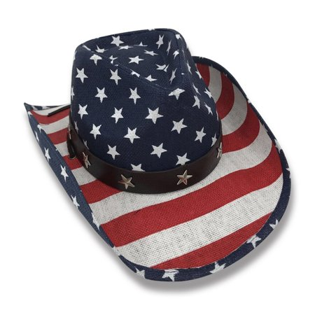 Old Stone Liberty Men's & Women's Unisex Cowboy Drifter Style Hat - 60cm