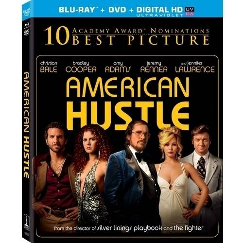 American Hustle (Blu-ray + DVD + Digital HD) (With INSTAWATCH) (Widescreen)