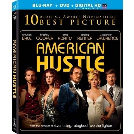 American Hustle  Blu Ray   Dvd   Digital Hd   With Instawatch   Widescreen