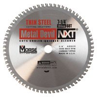 Circ Saw Kit (Mk Morse Csm72568Tsc Circ Saw Blade 7.25 68T Mtl)
