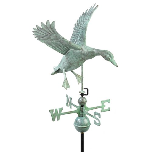 Good Directions Landing Duck Weathervane by Weathervanes