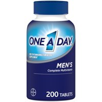 One A Day Men's Multivitamin Tablets, Multivitamins for Men, 200 Count