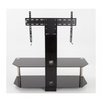 AVF Classic Corner Glass Pedestal TV Stand for up to 65""