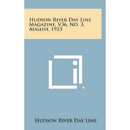 Hudson River Day Line Magazine, V36, No. 3, August, 1923