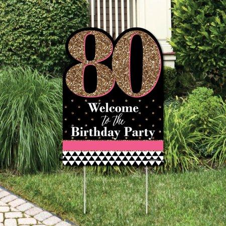 Chic 80th Birthday