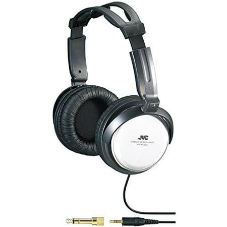 JVC HARX500 Full-Size Headphones (Jvc Silver Headphone)