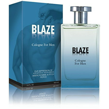 Blaze Cologne Spray for Men, - Scent Similar to Abercrombie and Fitch Fierce by PREFERRED FRAGRANCE ()