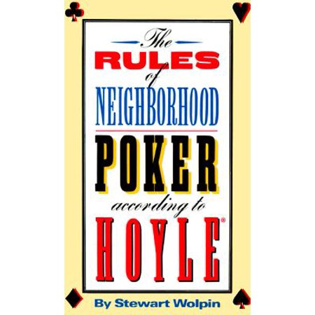The Rules of Neighborhood Poker According to