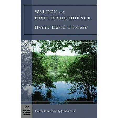 Walden And Civil Disobedience  Barnes   Noble Classics Series