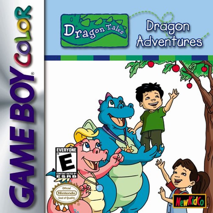 Dragon Tales Adventures Game Boy Color by