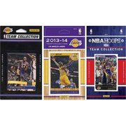 CandICollectables LAKERS314TS NBA Los Angeles Lakers 3 Different Licensed Trading Card Team Sets