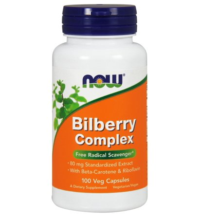 Bilberry Complex Now Foods 100 (Bilberry Complex 50 Caps)
