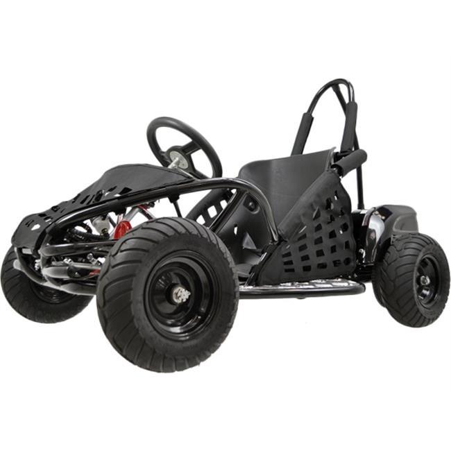 Big Toys USA MT-GK-01-Black Off Road Go Kart 48 Volt 1000...