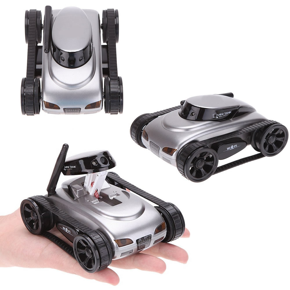 All Mighty Toy Tank With Wireless Camera And Remote Control App