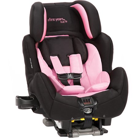 the first years true fit si c680 convertible car seat black and pink. Black Bedroom Furniture Sets. Home Design Ideas