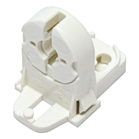 General 00393 G13 Medium Bi Pin Fluorescent Lamp Holder Socket