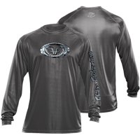 Flying Fisherman Long Sleeve Fish Scales Performance Tee (Two Colors Available)