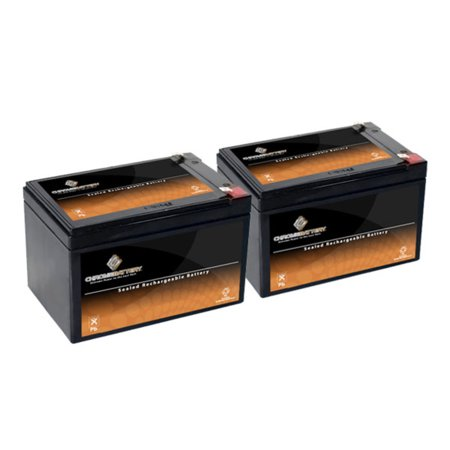 2 X NEW 12 Volt 12AH Sealed Lead Acid Battery for Ebike Electric Scooter Battery
