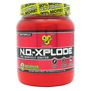 BSN N.O.-XPLODE - Green Apple, 2.45 lb (60 servings)