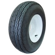 Hi Run ST Bias Boat Trailer Tire with Wheel Assembly 20.5X8.00-10/L *Tire and Wheel assembly only, no additional parts included