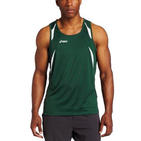 fa5996f56940d ASICS - ASICS Men s Interval Sleeveless Athletic Workout Singlet Tank Shirt