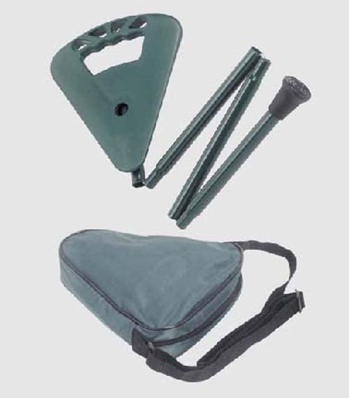 SEAT GREEN BRAND NEW ** WALKING FLIPSTICK ORIGINAL SHOOTING STICK