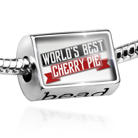 Bead Worlds Best Cherry Pie Charm Fits All European
