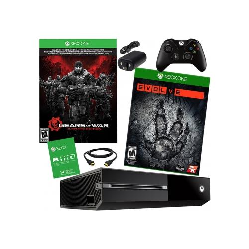 Xbox One 500GB Gears of War Bundle with Evolve & Battery Pack
