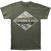 Comeback Kid Men's  Snakes T-shirt Green
