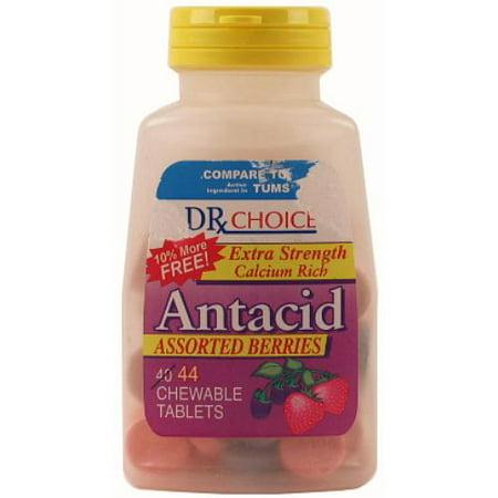 New 305223  Dr Choice Antacid Chewable Tablets Asst Berries 44 Ct (36-Pack) Cough Meds Cheap Wholesale Discount Bulk Pharmacy Cough Meds