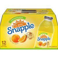 Snapple All Natural Orangeade, 16 Fl. Oz., 12 Count