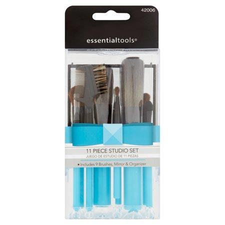 Essential Tools Studio Makeup Brush Set, 11 pc - Walmart.com