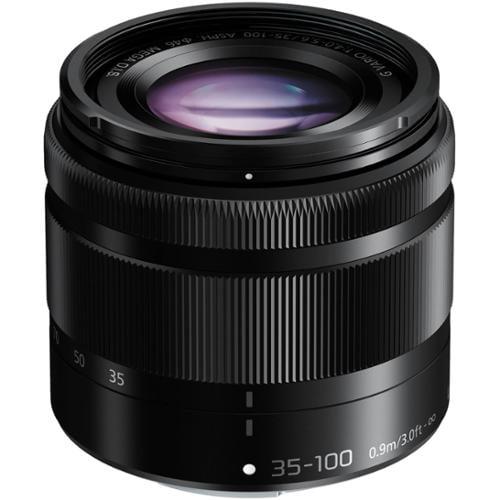 Panasonic Lumix G Vario 35-100mm f/4.0-5.6 OIS Zoom Lens (Black)