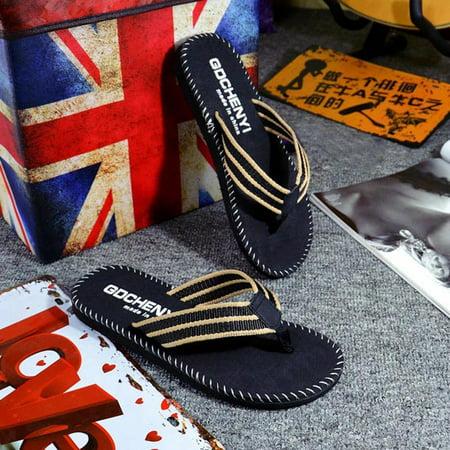 ecdb96588cfd Tuscom - Tuscom Men Summer Flip Flops Shoes Sandals Male Slipper Flip-flops  - Walmart.com