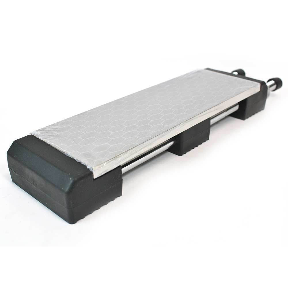 Double Sided Diamond Sharpening Stone 400 1000 Grit with Holder by