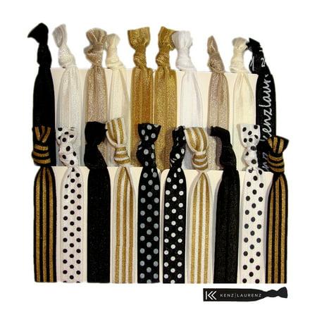 Kenz Laurenz Hair Ties 20 Elastic Sophisticated Ponytail Holders Ribbon  Bands for Women - Walmart.com 766d4745f7e
