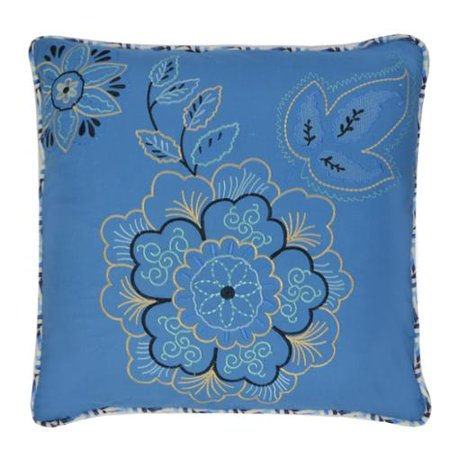 Waverly Decorative Throw Pillows : Waverly Charismatic Reversible Embroidered Decorative Throw Pillow - Walmart.com