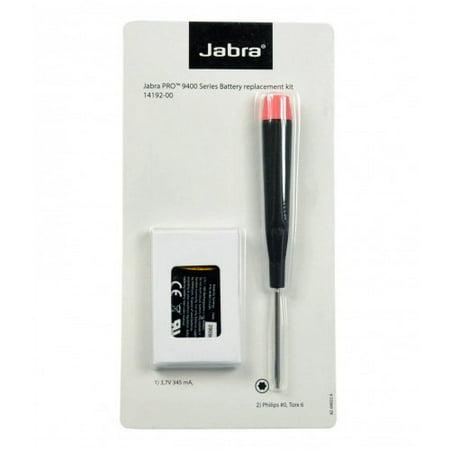 Jabra / GN Netcom 14192-00 Headset Battery f/ Jabra Pro 9400 (Gn Netcom Headset Battery)