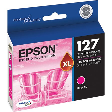 EPSON 127 DURABrite Ultra Ink Magenta Extra High Capacity Ink Cartridge