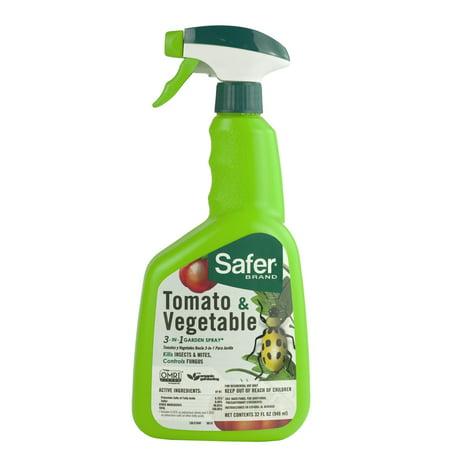 Safer Brand Tomato & Vegetable 3-in-1 Garden Spray ()