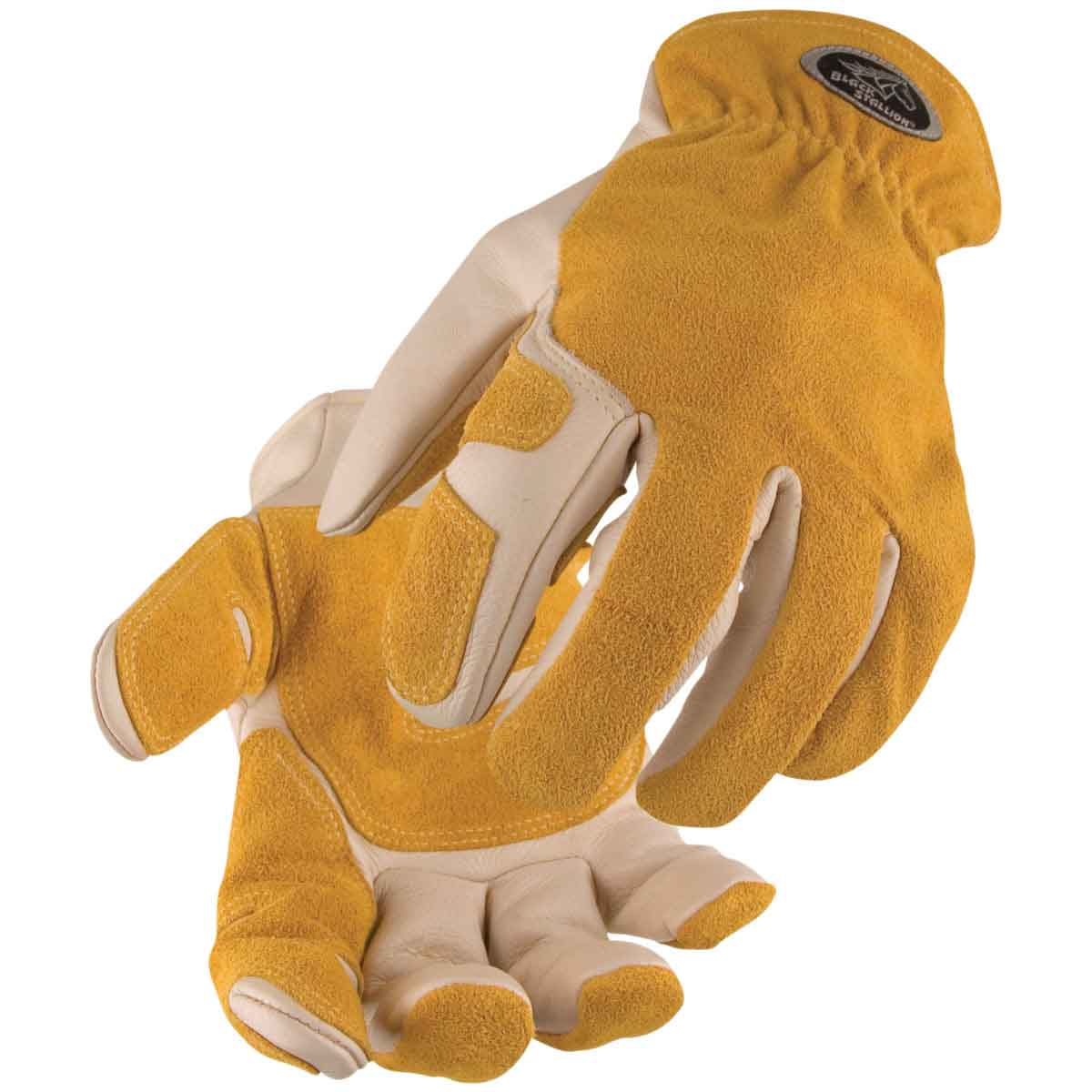 Black Stallion 97SW Versatile Grain Cowhide Drivers Glove with Reinforced Palm, X-Large