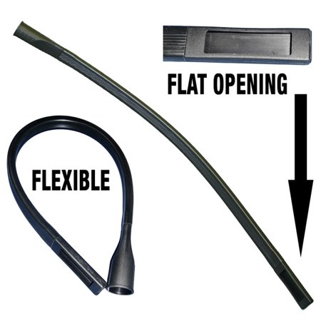 Fit All Vacuum Cleaner 1-1/4'' X 36'' Long Flexible Crevice Tool #
