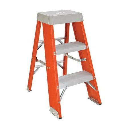 Stupendous Vestil Manufacturing Fbss 4 4 Ft Fiberglass Industrial Step Stand Machost Co Dining Chair Design Ideas Machostcouk