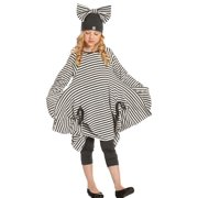 Girls Milk Charcoal Stripe Tanya Designer Fall Dress 7
