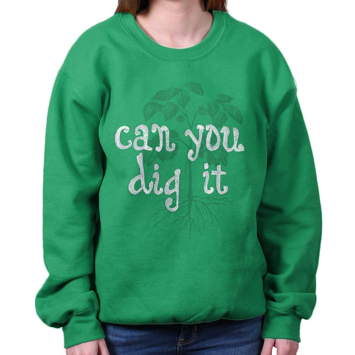 Dig It Home Funny Shirt | Cool Home Gardening Gift Cute Edgy Sweatshirt