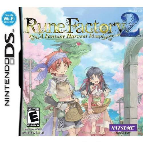 Natsume Rune Factory 2: Harvest Moon Fantasy (DS)